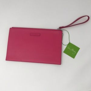 NEW! Vera Bradley Wristlet - Colorblock Rouge